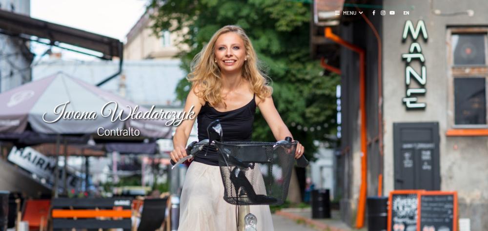 Iwona Wlodarczyk - strona na wordpress