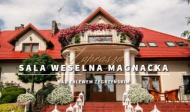Strona na WordPress dla sali weselnej