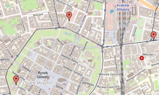 WordPress-wtyczka-mapy-google-open-street-map-zaznaczanie-kilku-punktow