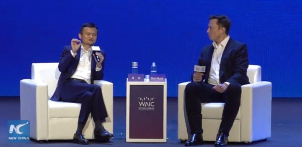 Super ciekawa debata pomiędzy Jack Ma i słynnym Musk'em