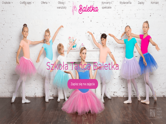 Szkoła tańca Baletka